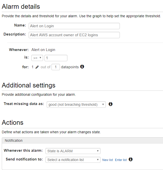 Logging and Alerting on EC2 instances with AWS – Trenches of IT
